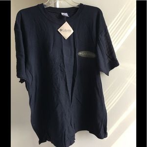 NWT Columbia Casual Tee Shirt. Size L. 100% Cotton